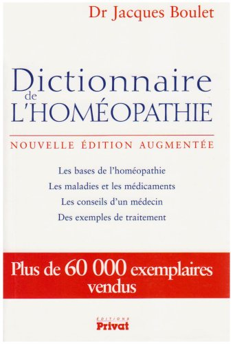 Dictionnaire homeopathie J Boulet
