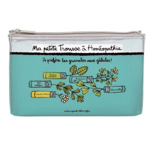 Pochette rangement homeopathie