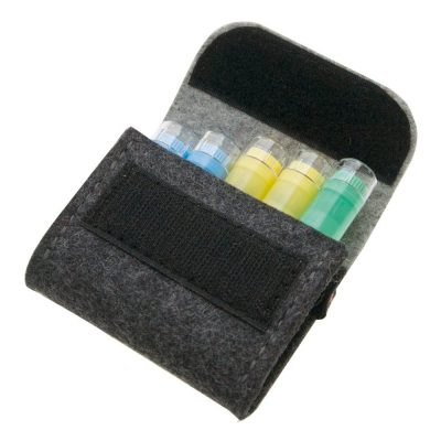 Pochette rangement homéopathie 6 tubes
