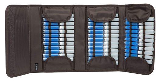 Pochette rangement homeopathie 90 tubes